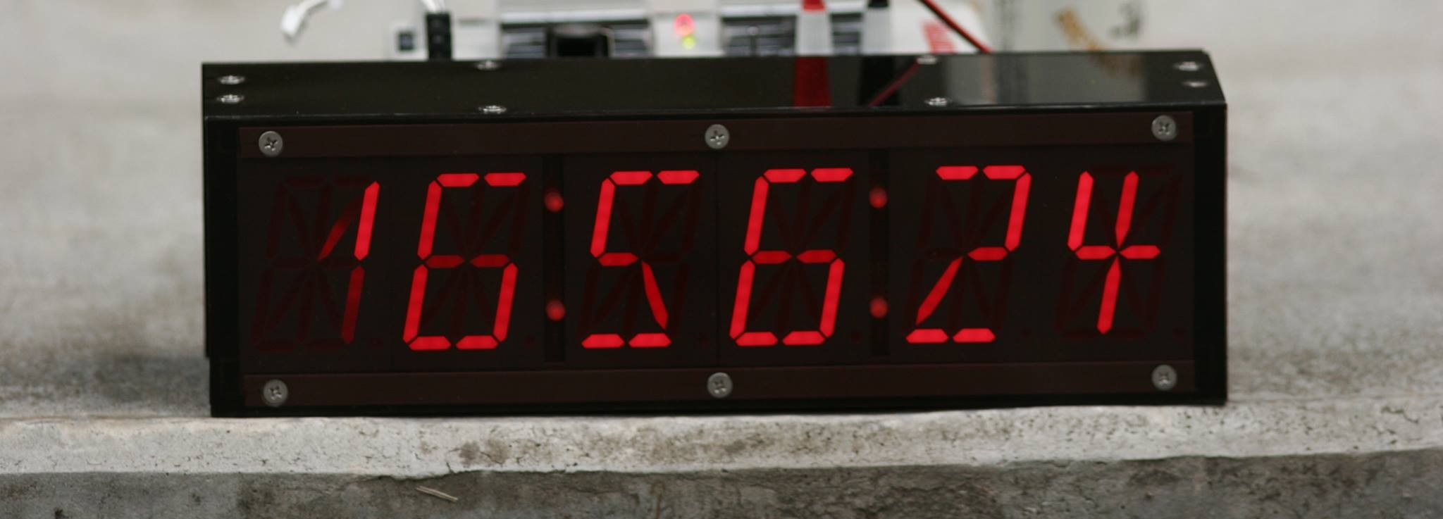 Big 16 Segments LED GPS Clock