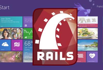 Rails on win8.1(64bit)